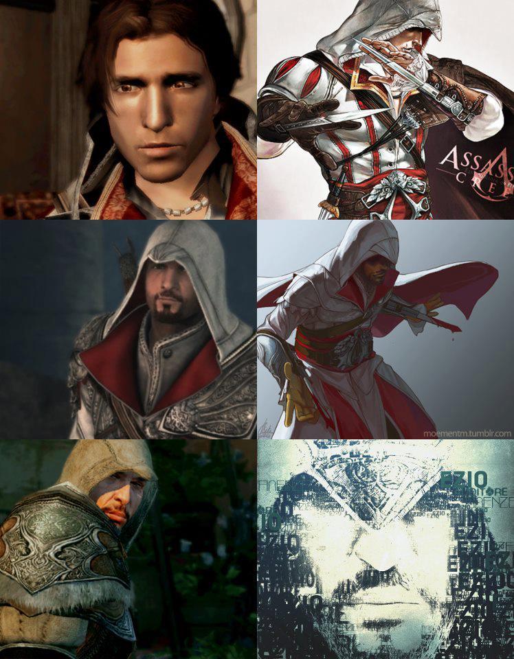 Ezio Auditore The Assassin S Fan Art 32622963 Fanpop