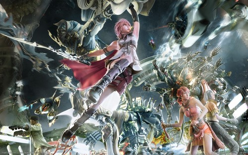 Final Fantasy XIII Wallpaper Titled FF