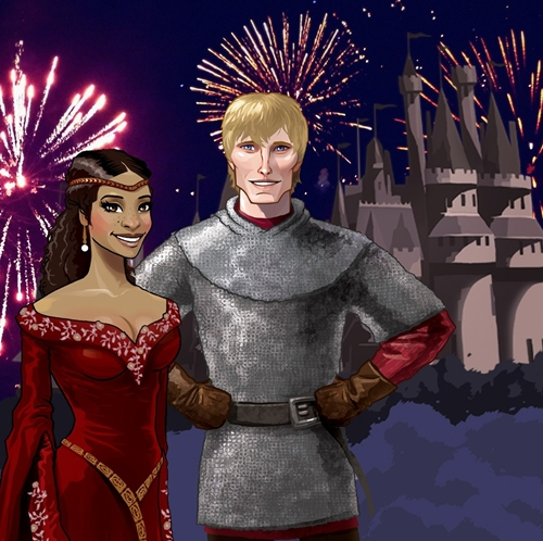Facebook: King Arthur and Queen Guinevere