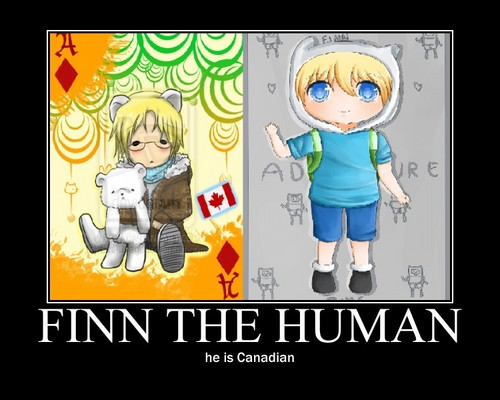 Finn the Human is Canadian