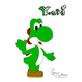 First Cpu Art! - yoshi fan art