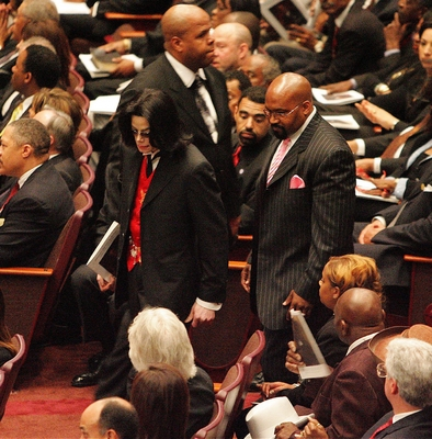 Former Attoney, Johnnie Cocharan's Funeral Back In 2005