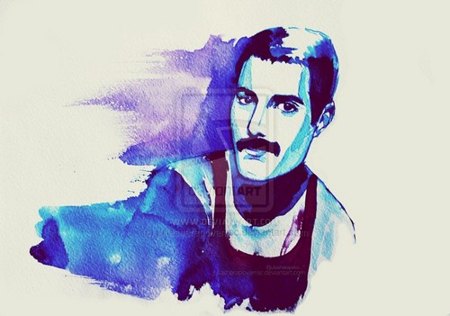 Freddie Mercury wallpaper possibly containing a snorkel titled Freddie