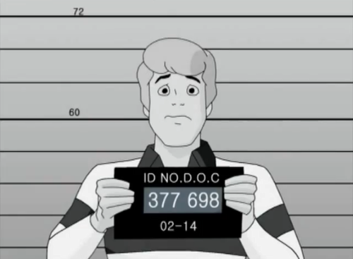 Scooby-Doo wallpaper titled Freddy's Mugshot