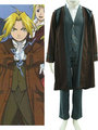 Fullmetal Alchemist Edward 2th Cotton Polyester Cosplay Costume - fullmetal-alchemist-brotherhood-anime photo