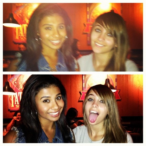 Genevieve Jackson and her cousin Paris Jackson ♥♥