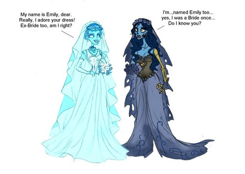 Ghost Bride VS Corpse Bride