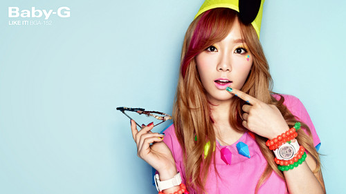 "Girls' Generation Taeyeon ""Casio's Baby G"""