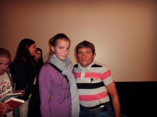Girls and Josef Vana violet - pink look