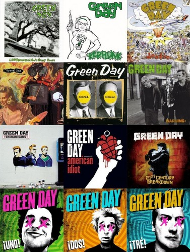 Green Day Albums