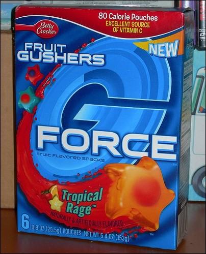 Gushers G-Force