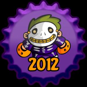 Dia das bruxas 2012 boné, cap