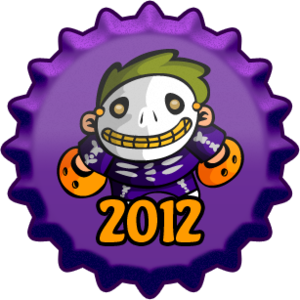 Halloween 2012 cap, herufi kubwa