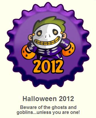 Halloween 2012 ٹوپی