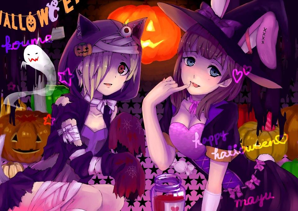 anime halloween girl - photo #6