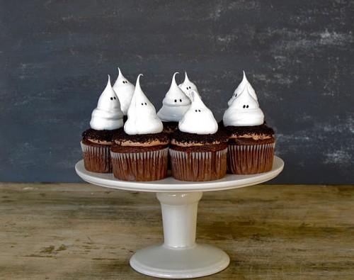 हैलोवीन कपकेक
