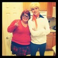 Halloween! Velma & fred figglehorn (from Scooby Doo)