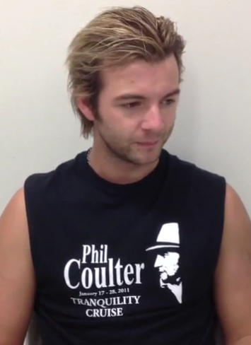 Keith Harkin achtergrond containing a jersey entitled Happy fan Friday!