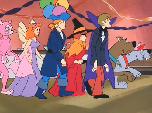 Scooby-Doo achtergrond probably with anime called Happy Halloween!