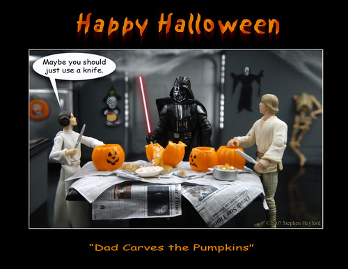 Star Wars wallpaper possibly with anime called Happy Halloween