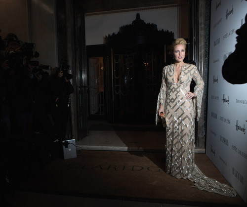 Harper's Bazaar Woman of the tahun Awards at Claridge's Hotel in london