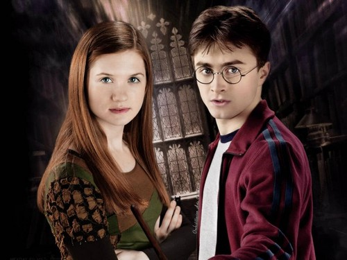 Harry potter and ginny weasley situation