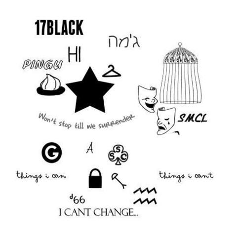 Harry's 纹身
