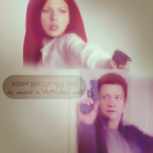Hawkeye + Black Widow