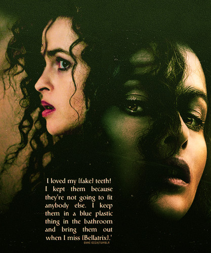 Helena on Bella's teeth