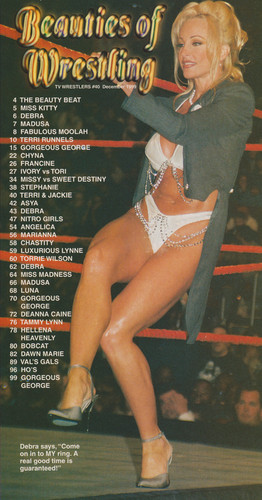 Former WWE Diva... Debra achtergrond called High Quality Debra Scans