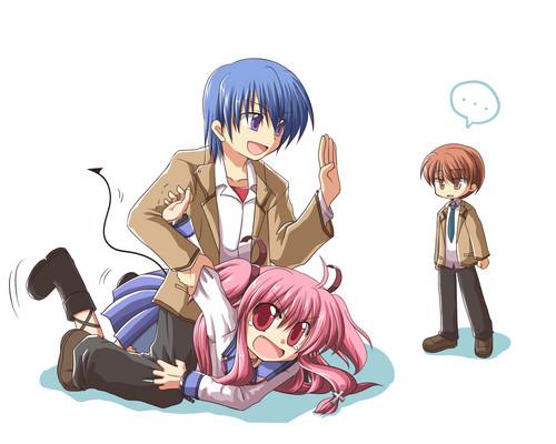 Hinata, Yui and Otonashi