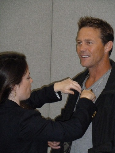 holly and Brian - London Film and Comic Con - 27-29 April, 2012