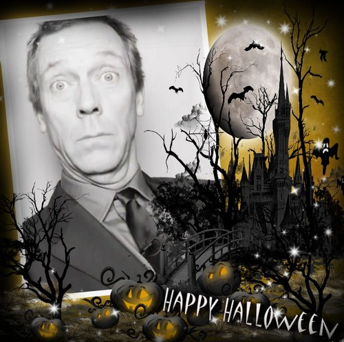 Hugh Laurie-Happy Хэллоуин