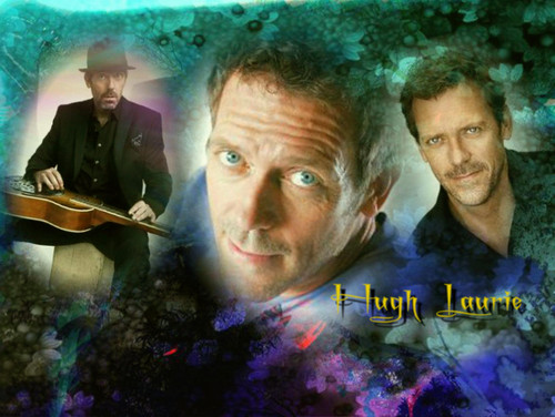 Dr. House Hintergrund entitled Hugh Laurie