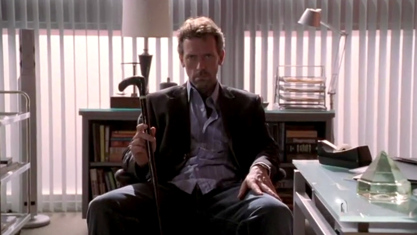 Hugh laurie-House MD