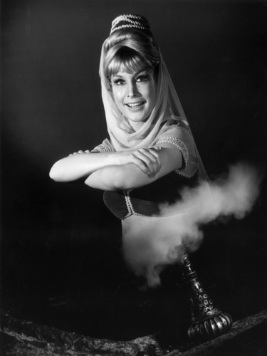 Barbara Eden Hintergrund titled I Dream of Jeannie
