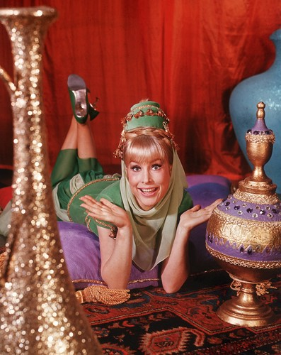 Barbara Eden Hintergrund called I Dream of Jeannie