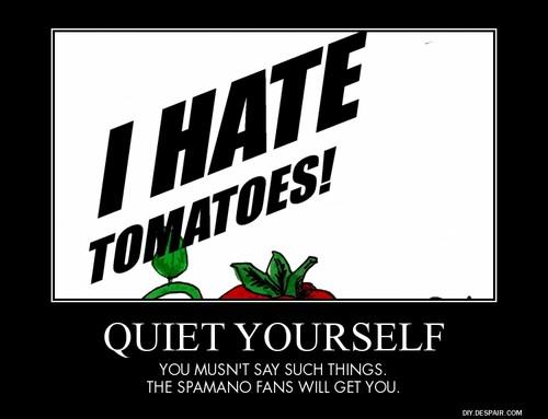 I Hate Tomatoes Hetalia Demotivational Poster