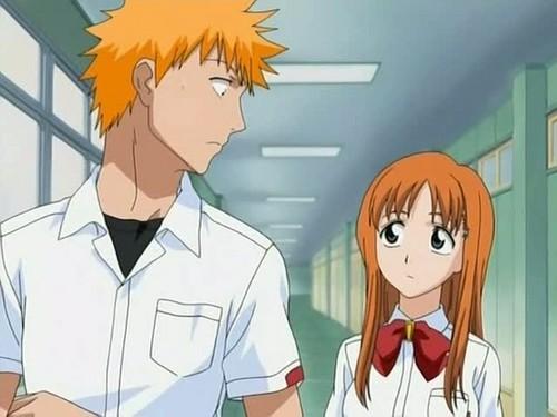 Ichigo & Orihime images Ichigo and Orihime wallpaper and ...