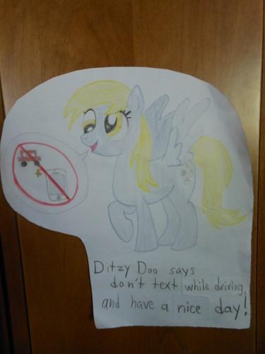 Important message form Ditzy Doo