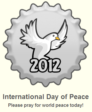 Fanpop wallpaper called International Day of Peace 2012 Cap