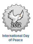 International hari of Peace 2012 topi