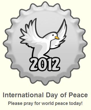 International araw of Peace 2012 takip