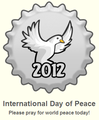 International hari of Peace 2012 topi