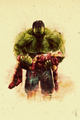 Iron Man & Hulk - the-avengers fan art