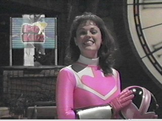 JAN pink TIME FORCE RANGER