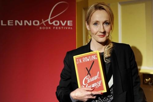 JK Rowling attends Lennoxlove Book Festival