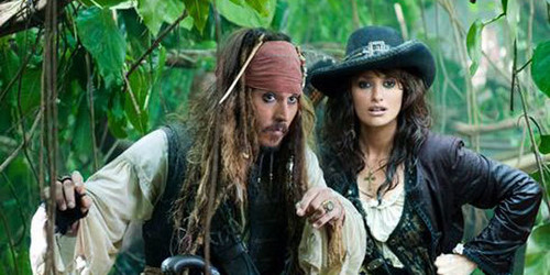 Jack Sparrow and Angelica