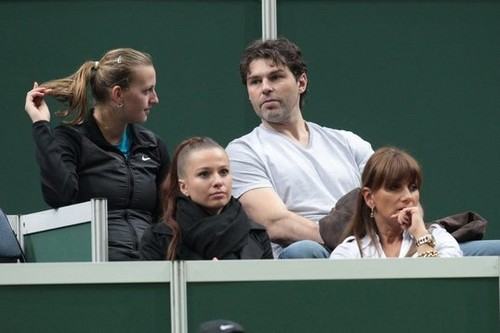 Jagr Kiss with Kvitova officially ended the relationship with Inna !