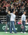 Jagr plays tennis - tennis photo